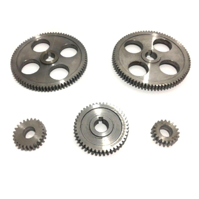 5 pièces/ensemble CJ0618 engrenage de Machine-outil engrenages en métal Micro-tour engrenage de coupe en métal