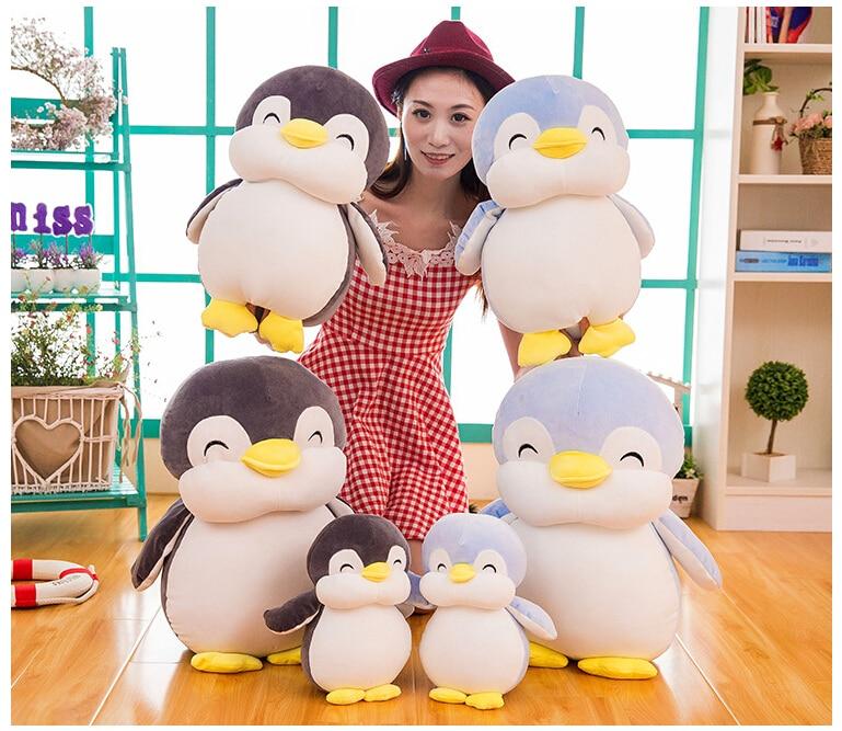 24cm Soft Fat Penguin Plush Toys Staffed Cartoon Animal Doll Fashion  Kids Baby Lovely Girls Christmas Birthday Gift
