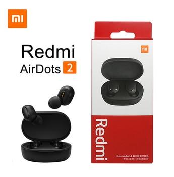 New Xiaomi Redmi AirDots 2 Wireless Bluetooth 5.0 redmi airdots2 Mi Ture Wireless Earbuds In-Ear stereo bass NOT redmi airdots s