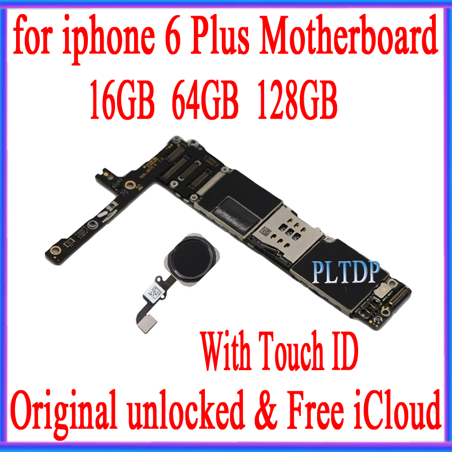 High Quality, Unlocked for iphone 6 plus Motherboard with/without Touch ID +Free iCloud,Original for iphone 6plus Mainboard-in Mobile Phone Antenna from Cellphones & Telecommunications