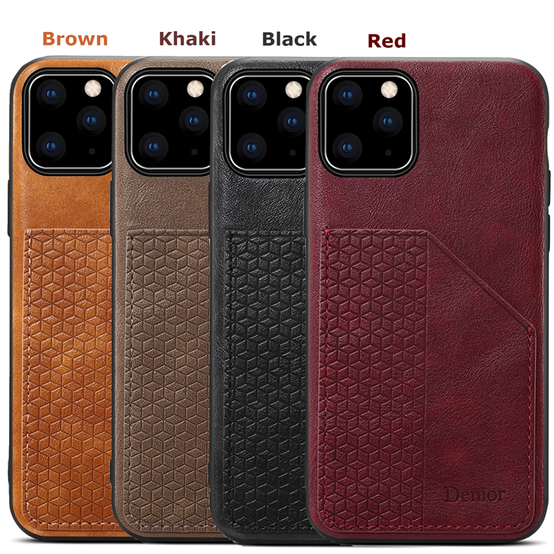 Luxury Leather Card Holder Case for iPhone 11/11 Pro/11 Pro Max 5