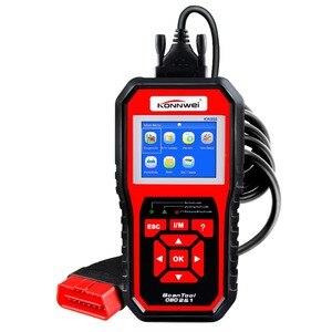 Image 1 - Scanner automatico OBD2 KONNWEI KW850 Scanner lettore di codice universale strumento diagnostico multilingue OBD 2 Scanner automatico