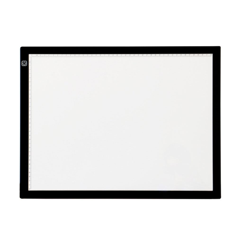A3 réglable luminosité traçage Led Table Ultra mince Art pochoir Pad planche à dessin copie esquisse boîte à lumière artistes