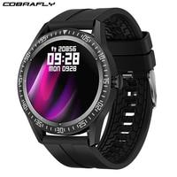 Cobrafly-reloj inteligente N70 para hombre y mujer, accesorio de pulsera resistente al agua IP67 con llamada Bluetooth, dial personalizado, diseño de doble interfaz de usuario de 1,28 pulgadas, Larga modo de reposo