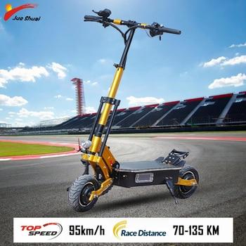 Patinete eléctrico, bicicleta eléctrica de 5000W, Patinete eléctrico con batería de litio Samsung, Patinete eléctrico Adulto, Patinete eléctrico Step