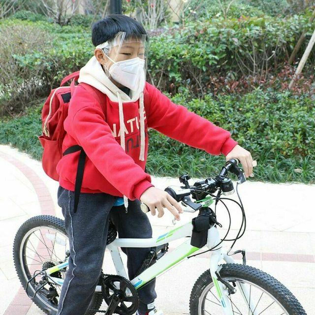 Brand New 1 PC Anti-virus Saliva Transparent Mask Protective Face Shield PVC Protection 5