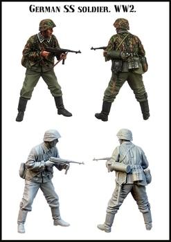 [tusk model]1/35 Scale Unassembled Resin figures resin model Kits E172 1