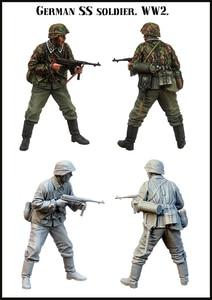 [tusk model]1/35 Scale Unassembled Resin figures resin model Kits E172(China)