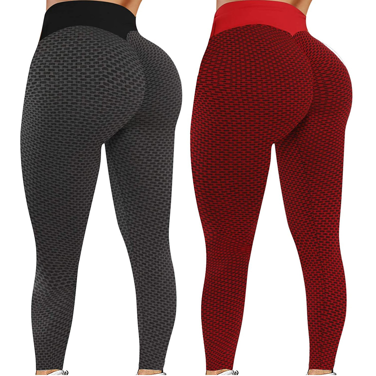 Women Yoga Pants Seamless Butt Lift Fitness Leggings Running Gym Sports Trousers