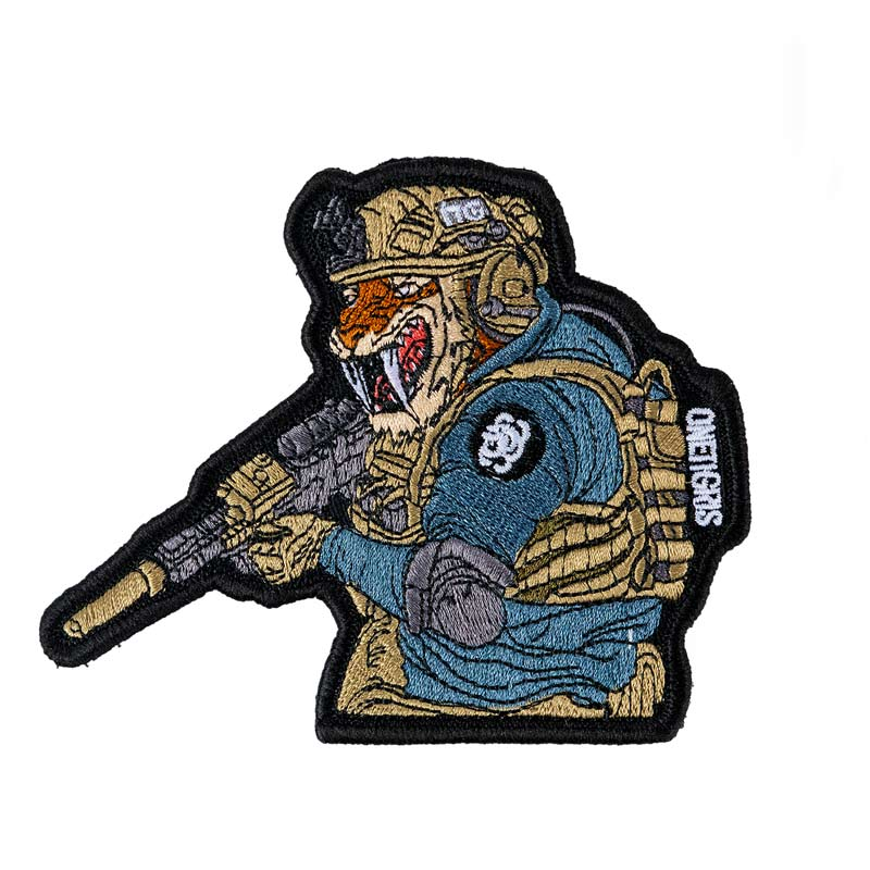 OneTigris Original Cool Funny Patches Tactical Morale Military Patch X Titiartist Collectable Patch Reveals The Unique