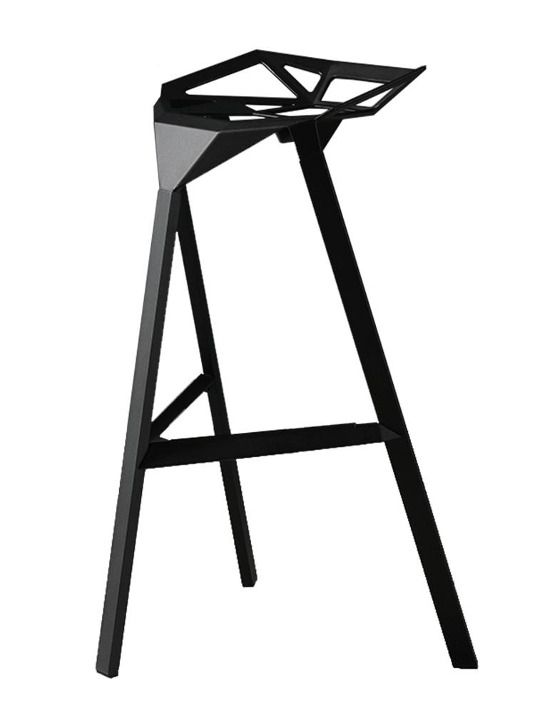 Industrial Wind  Wrought Iron Bar Chair Stool Chair Stool Checkout Bar Ktv Creative Kong   - title=