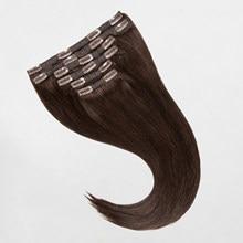 MRSHAIR Clip dans les Extensions de cheveux humains fait à la Machine Remy cheveux raides #60 blond brun couleur naturelle cheveux 7 pièces cheveux brésiliens