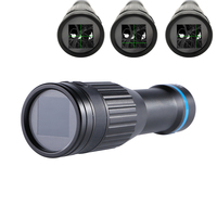 E zooming 4X Mini Thermal Imaging Sighting Telescope Night Vision Thermal Monocular Riflescope Sight Scope Device for Hunting