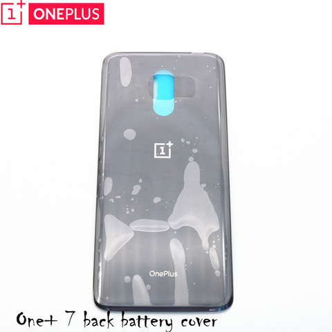 Original 3D Glass Oneplus 7  Battery Door Case Back Cover Rear Phone Housing Case For One Plus 7 Replacement Parts Lahore