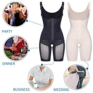 Image 5 - Bodysuit Shapewear Full Body Shaper Waist Trainer Women Slimming Sheath Belly Slim Shapewear Tummy Control Shapers Faja Corset