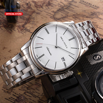 Seagull watch men's automatic mechanical watch fashion casual calendar waterproof ladies watch national series 816.405 1