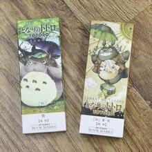 32 pcs Cartoon Totoro book marks My neighbor paper bookmarks Stationery items office School supplies marcador de livro FC392