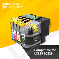 Kompatibel tinte patrone für brother LC225 LC229 LC229XL MFC-J5320DW 5620DW 5720DW 5625DW DCP-4120DW drucker LC225 LC229 XL