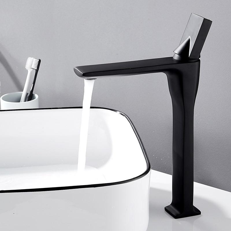 Basin Water Tap Hot And Cold Wash Basin Wash Hands Pool Platform Basin Bathroom Household Toilet Foramina Singulare Shower Room