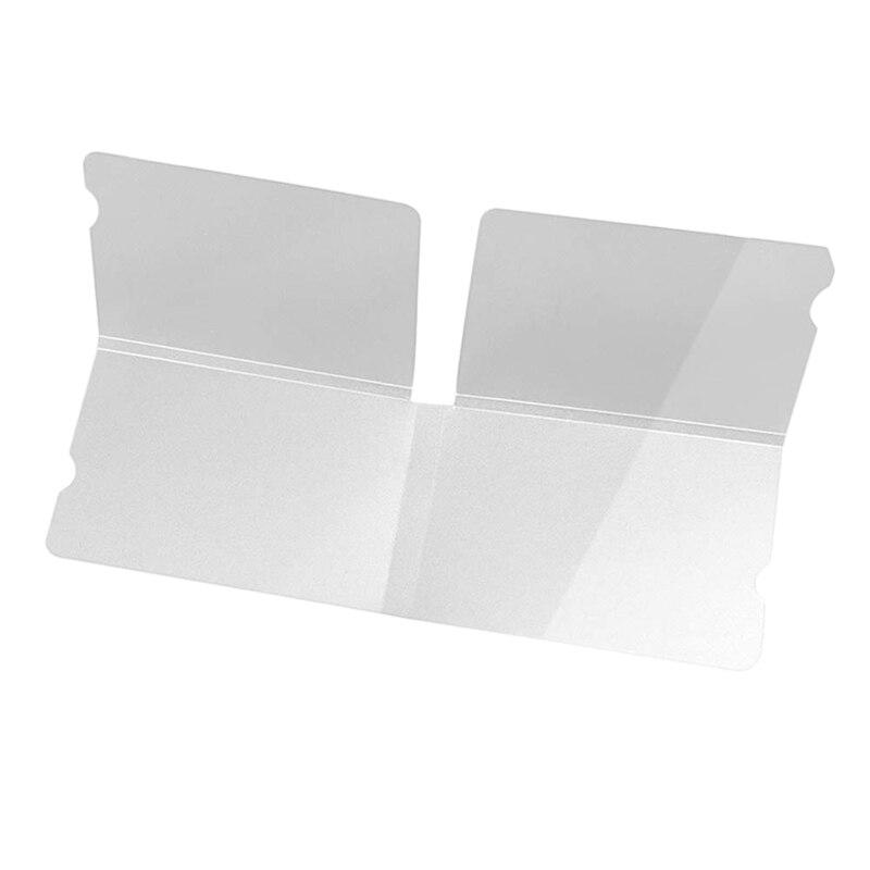 20 Pcs Portable Masks Storage Clip Reusable Disposable Masks Organizer Mask Storage Folder