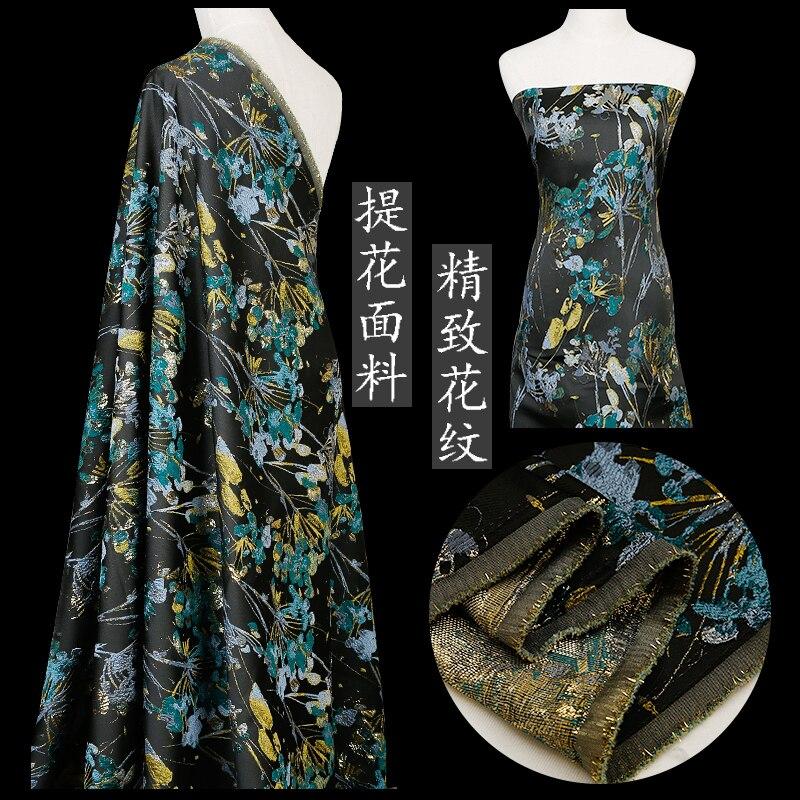 Exquisite muster jacquard stoff mode kleid stoff nähen materialien für DIY fursuit satin kleid und kleid mit stickerei
