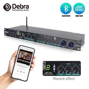 Debra E-270 24 bit dsp processador digital de áudio profissional com bluetooth para karaoke som sistema efeito áudio