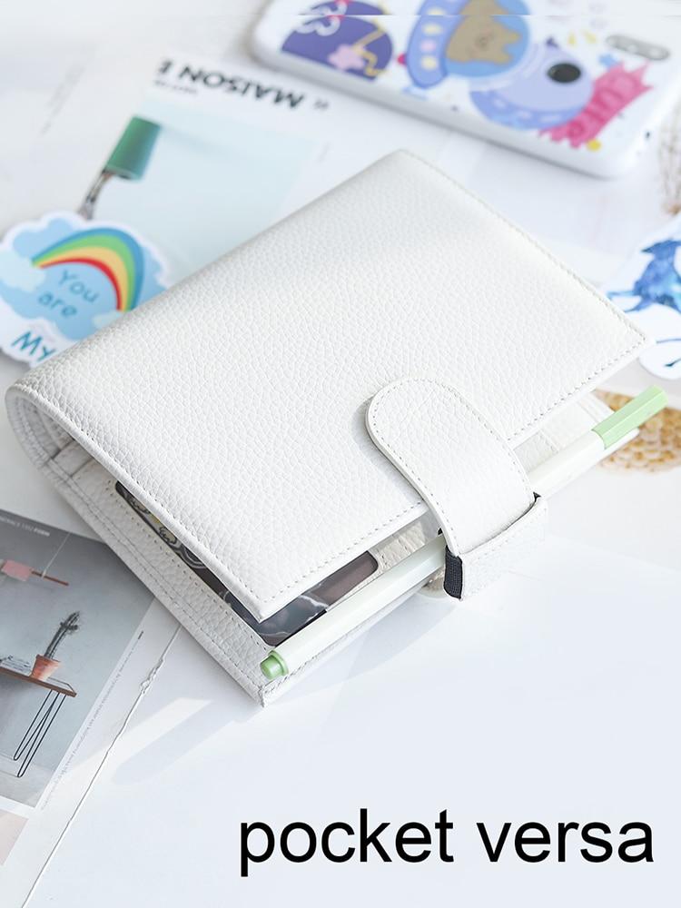 Moterm Size-Rings-Planner Journal Notepad Organizer Diary Pocket Versa Agenda Multifunctional