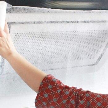 Limpieza De Cocina No Tejida Absorción De Aceite Suministros De Cocina Filtro De Malla Rango Campana Filtro De Papel