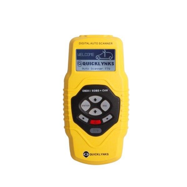 Highend Diagnostisch Scan Tool Obdii Auto Scanner T79 (Geel Multilingual Updatable) Een Jaar Garantie - 3