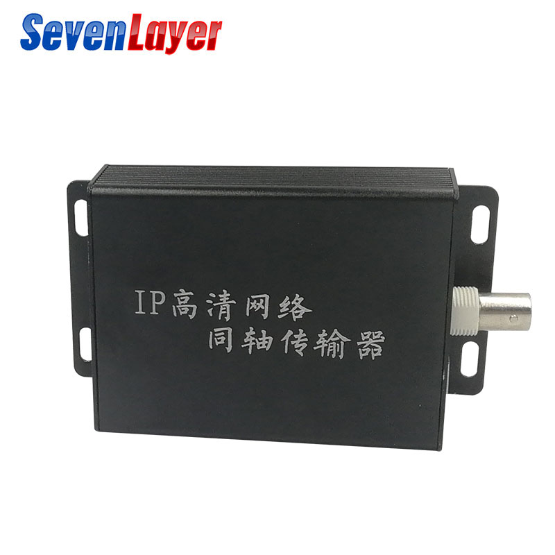 IP Video Extender EOC 1 BNC To Rj45 CCTV Slave Ethernet Over Coaxial Extender Reach Ethernet 1 RJ45 10/100Mbps Ip Accessory