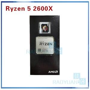 Image 5 - New CPU AMD Ryzen5 2600X R5 2600X 3.6 GHz Six Core Twelve Thread 95W CPU Processor YD260XBCM6IAF Socket AM4 With Wraith Max Fan