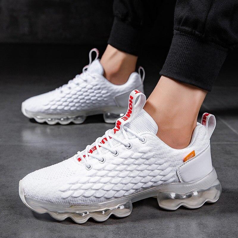 Кроссовки Для мужчин Спортивная обувь для бега, Фитнес амортизирующая спортивная обувь Повседневное с воздушной подушкой для прогулок и бе...