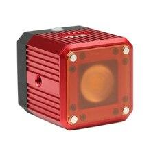 עמיד למים אלומיניום סגסוגת קוביית LED וידאו אור צלילה למלא אור Strobe פלאש עבור GoPro פעולה מצלמה Smartphone Drone