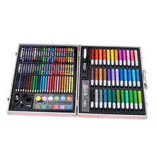 150 Pcs Aluminum Box Drawing Set Colored Pencil Watercolor Markers For Painting Professional Children Drawing Pen Art Supplies