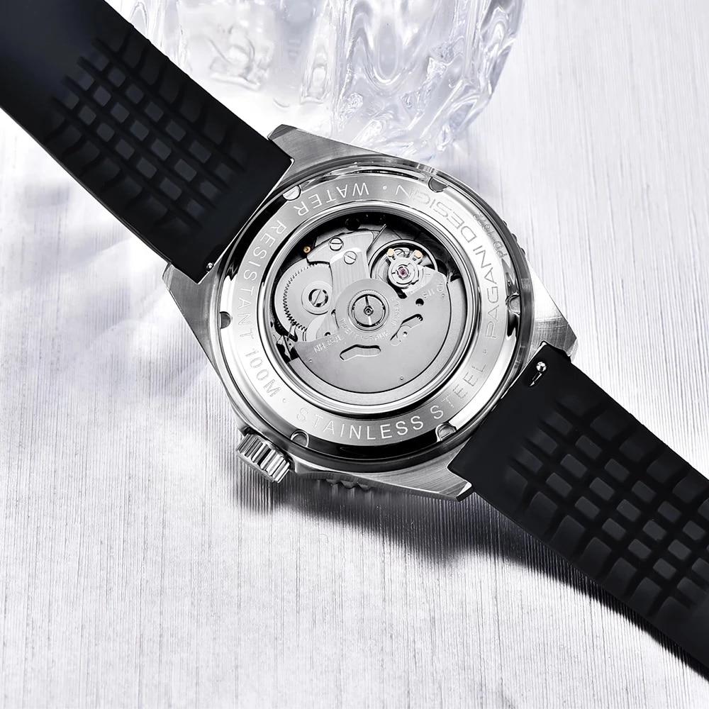 Часы pagani design Мужские механические роскошные деловые Брендовые