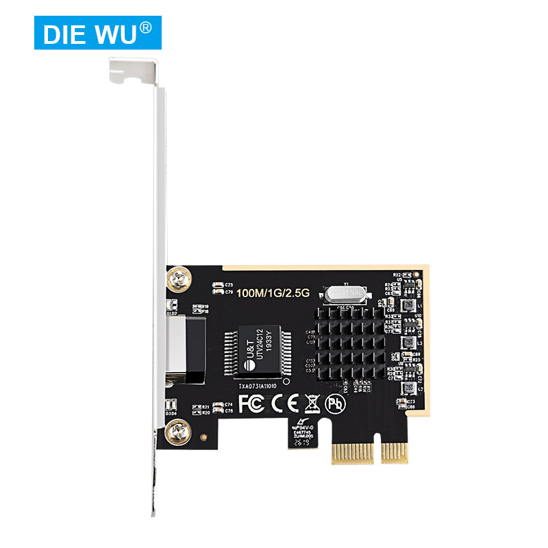 TXA073 Realtek/RTL8125 PCIe 2.5G lan Card/Game Ethernet lan Card/2500Mbps LAN adapter/ Ethernet adapter/RJ45 NIC for PC 5