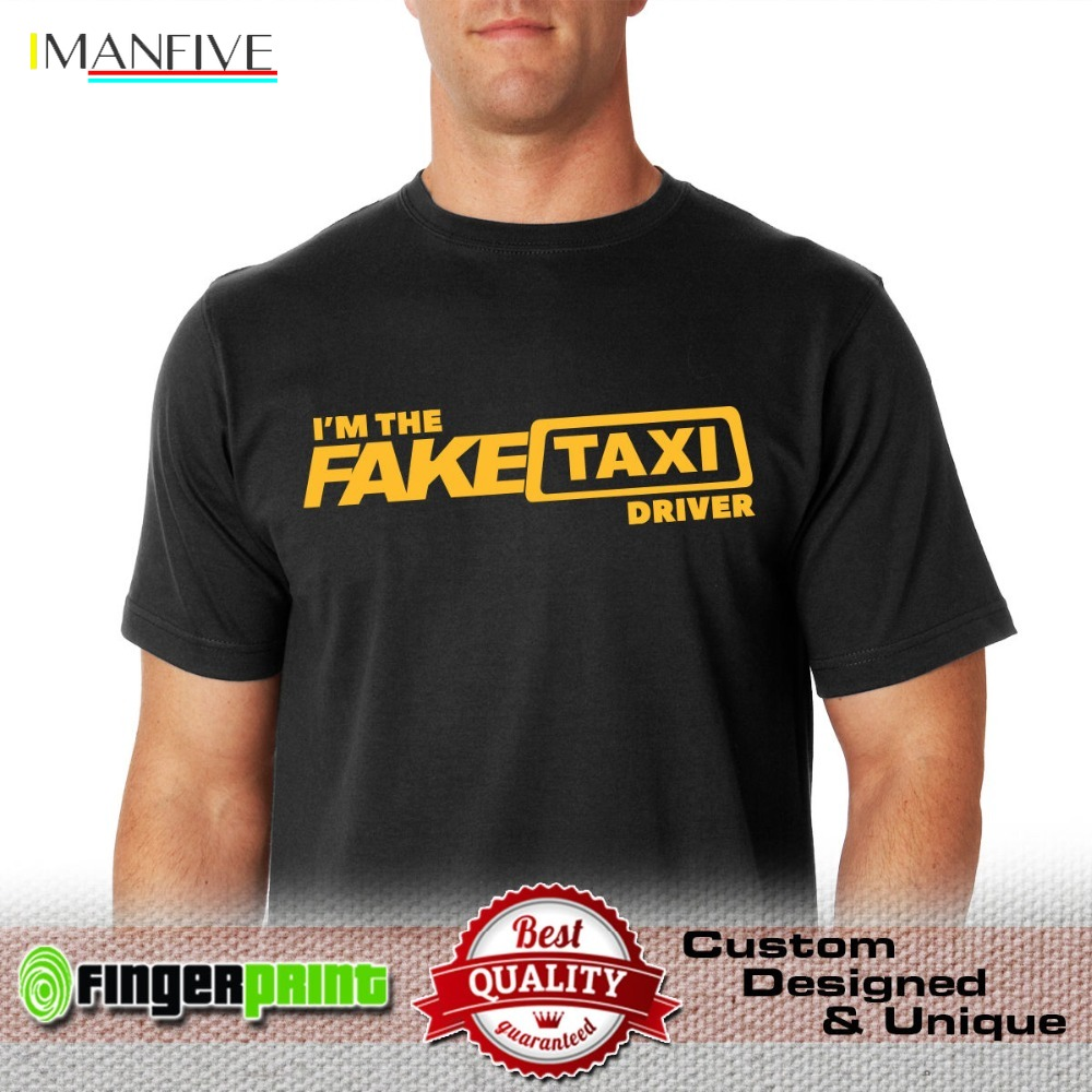100% Cotton Short Sleeve FAKE TAXI TSHIRT tshirt faketaxi cotton milf adult bachelor driver designer men