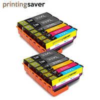 12 pièces 33XL 3351 XL cartouche d'encre Compatible pour Epson XP-530 XP-630 XP-830 XP-635 XP-540 XP-640 XP-645 Imprimante