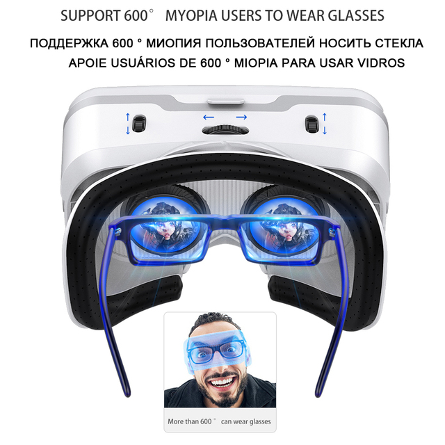 VR Shinecon 10.0 Casque Helmet 3D Glasses Virtual Reality Headset For Smartphone Smart Phone Goggles Video Game Viar Binoculars 2