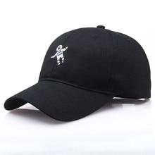 Женская бейсбольная Кепка унисекс Emberoidery Солнцезащитная шляпа модная кепка астронавт Emberoidery крутые бейсболки кепки для девочек