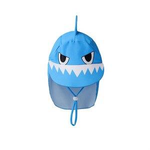 Image 5 - Garçons maillots de bain UPF50 trois pièces nouveau né maillot de bain requin imprimer infantile bébé vêtements de bain maillot de bain pour enfants piscine vêtements de plage