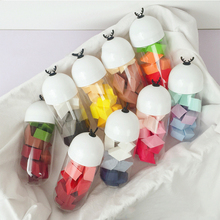 15PCS/Can Disposable Makeup Sponge Puff Mini Size Cute Makeup Blender Foundation Puff Flawless Powder Beauty cocute 50pcs lot soft cosmetic sponge powder puff pro beauty makeup sponge power puff gourd blender smooth puff flawless