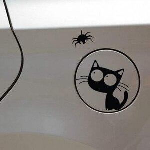 Cat And Spider Decal Vinyl Car