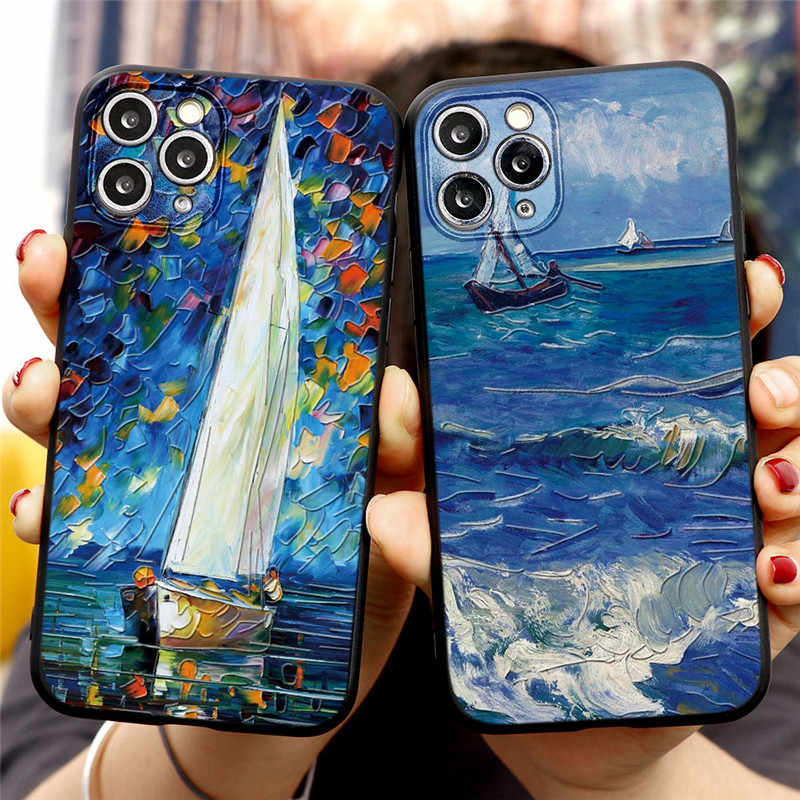 TPU Cartoon Paar Fall Für iPhone 11 Pro X XS MAX 6 S 7 8 Plus Weiche Silicon Telefon Shell für iPhone SE 2020 XR Capa Fundas Abdeckung