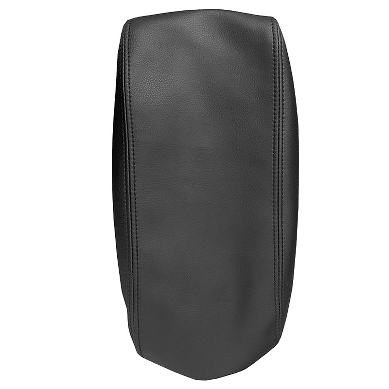 Leather Armrest Car Center Console Lid Cover Pad For Jeep Grand Cherokee 11-19 Armrest Cover Skin Car Auto Parts Covers