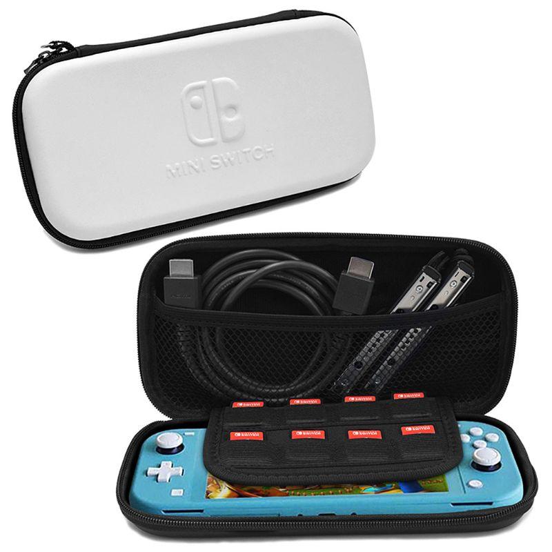 Tragbare Mini Harte EVA PU Lagerung Tasche Wasserdichte Tasche Tasche für Nintend Schalter Lite Konsole Gaming Zubehör LX9A