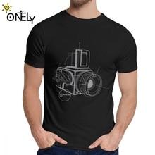 Gran Hasselblad Vintage Cámara Camiseta para Hombres Nuevo diseño increíble Camiseta de cuello redondo
