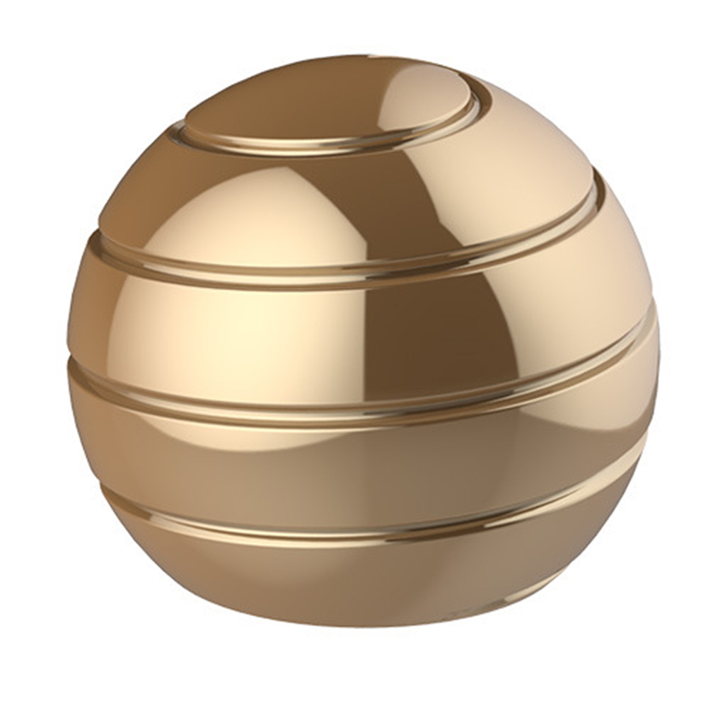 Finger Gyroscope Rotating Gyro Illusion Flowing Optical Anti Stress Spherical Desk Ball Metal Spinning Tops Decompression Toy