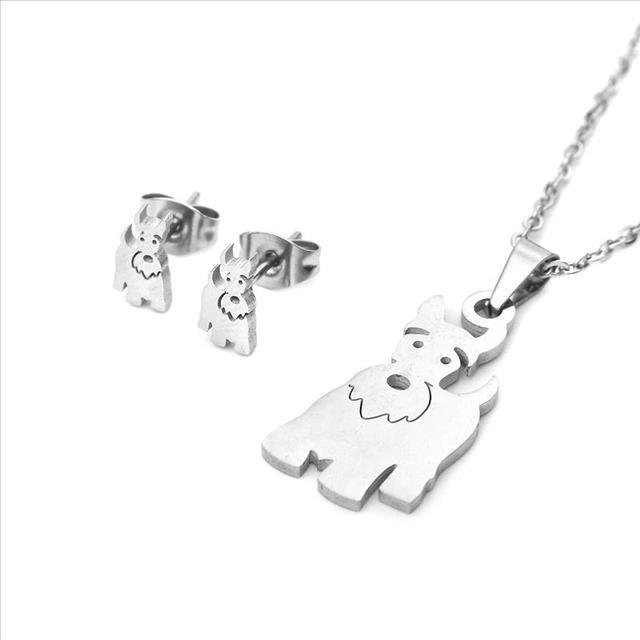 Dog Necklace Set 2