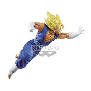 """Image 4 - Banpresto figura de Anime japonés """"Dragon Ball Super"""", colección Original de Banpresto Chousenshi Retsuden, SUPER SAIYAN VEGITO Vegetto"""